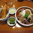 016_01_01_松代城⇒ミニ天丼&おろしなめこ蕎麦