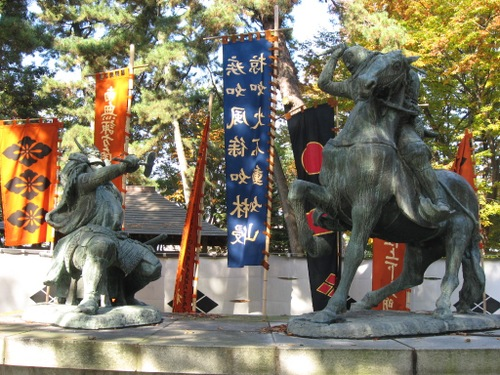 武田 信玄(1521~1573)と上杉 謙信(1530~1578)
