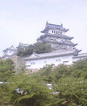 姫路城に来ています